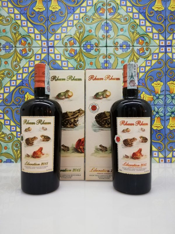 Rum Serie Rhum Liberation 2015 – Version Integrale cl 70