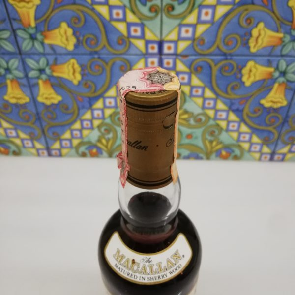 Whisky Macallan 12 Year Old 1990s  Giovinetti e figli import vol 45% cl 70 No box
