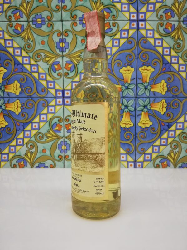 Whisky Bowmore 1995 Single Cask Selection The Ultimate vol 43% cl 70