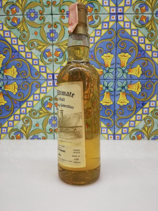 Whisky Mannochmore 1991 Single Cask Selection The Ultimate vol 43% cl 70