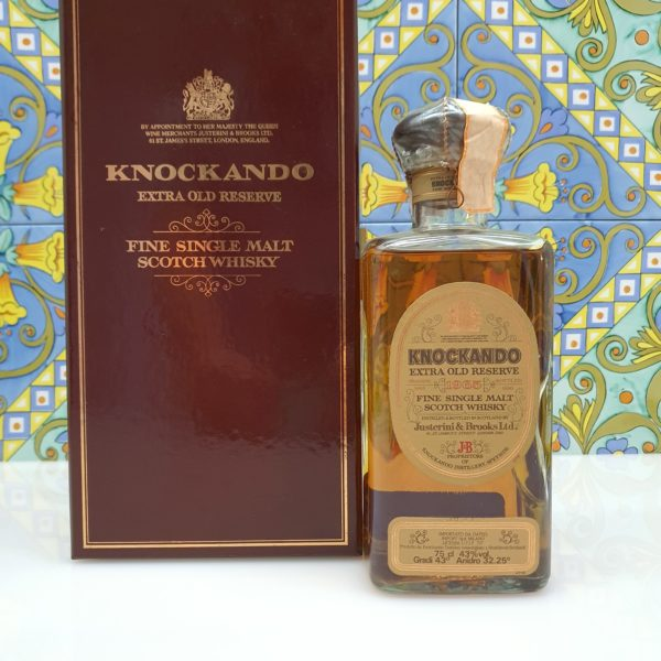 Whisky Knockando 1965 Extra Old Reserve bottled 1990 vol 43% cl 75