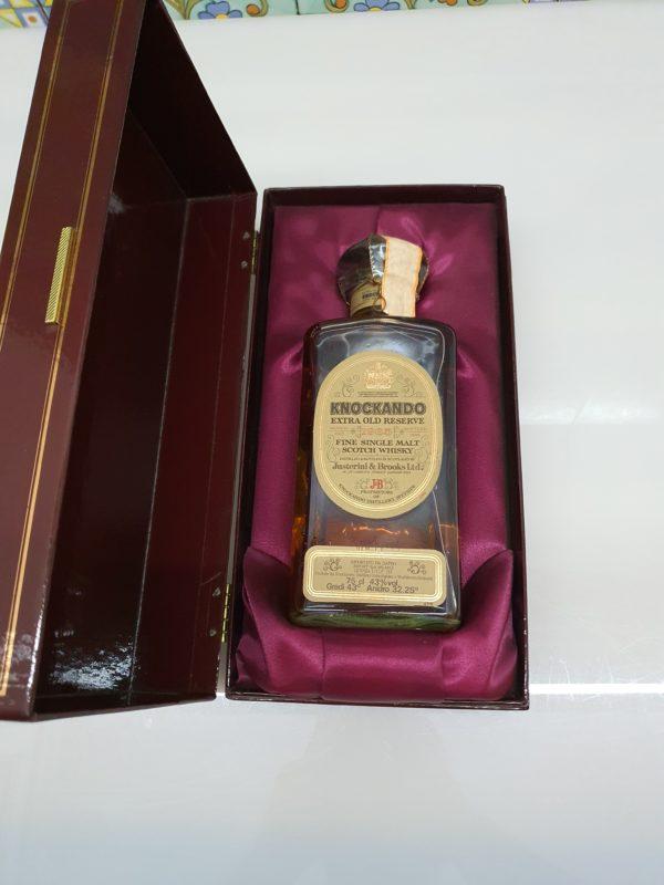 Whisky Knockando 1965 Extra Old Reserve bottled 1990 vol 43% cl 75