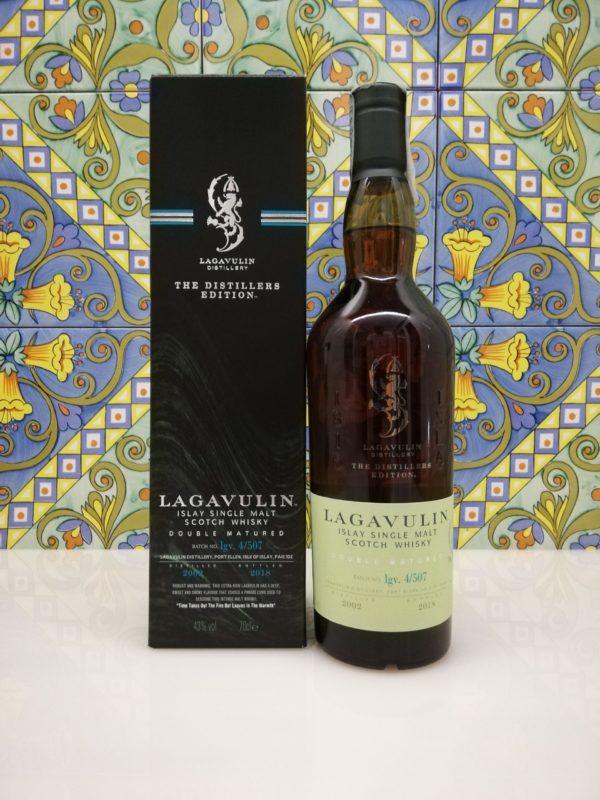 Whisky Lagavulin Distillers Edition 2002  vol 43% cl 70