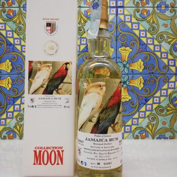 Jamaican Rum 2007-2020 cl 70 vol 45% Monymusk Distillery  Moon Import