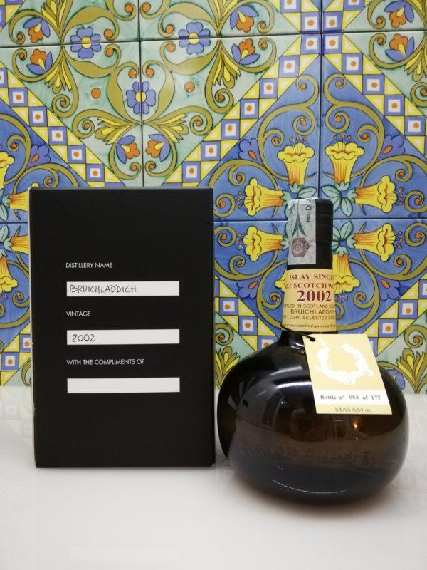 Whisky Bruichladdich 2002 – 18 y.o. -Masam vol 54.5% cl 70