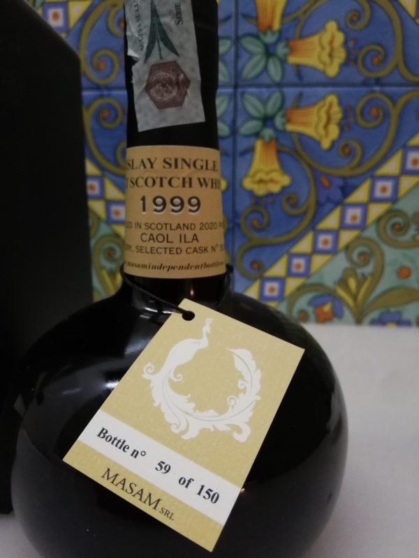 Whisky Caol Ila 1999- 21 y.o. Masam Full Proof cl 70 vol 53,7%