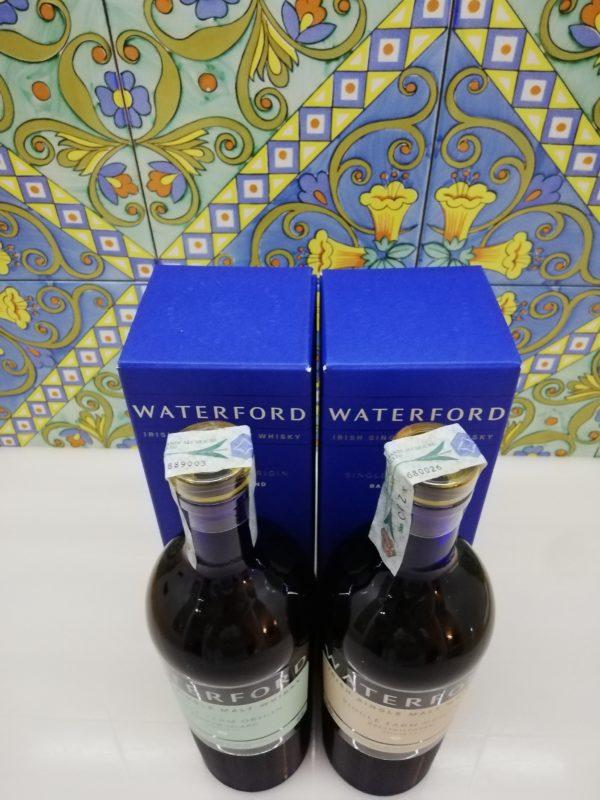 Whisky Waterford 1st release Single Farm Origin -Ballykilcavan 1.1 – Bannow Island 1.1 -cl 70 vol 50%