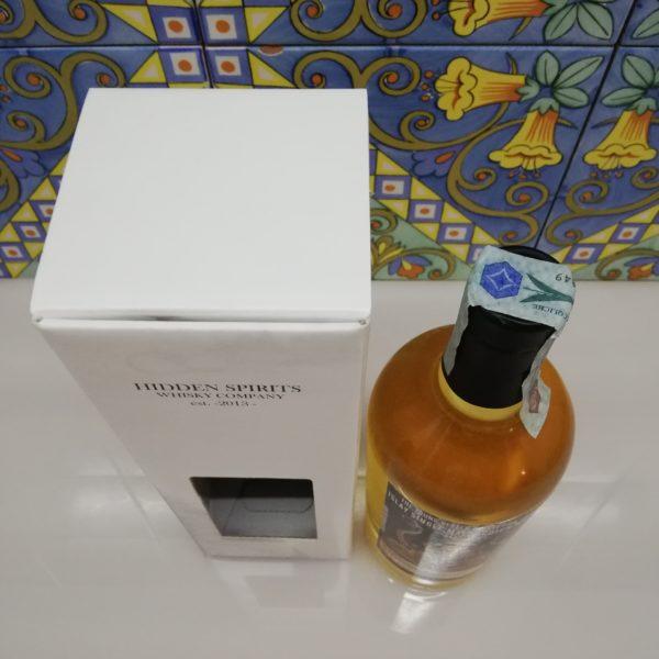 """Whisky Bunnahabhain """"Staoisha"""" 5 yo 2013-2018 Hidden Spirits vol 50% cl 70"""