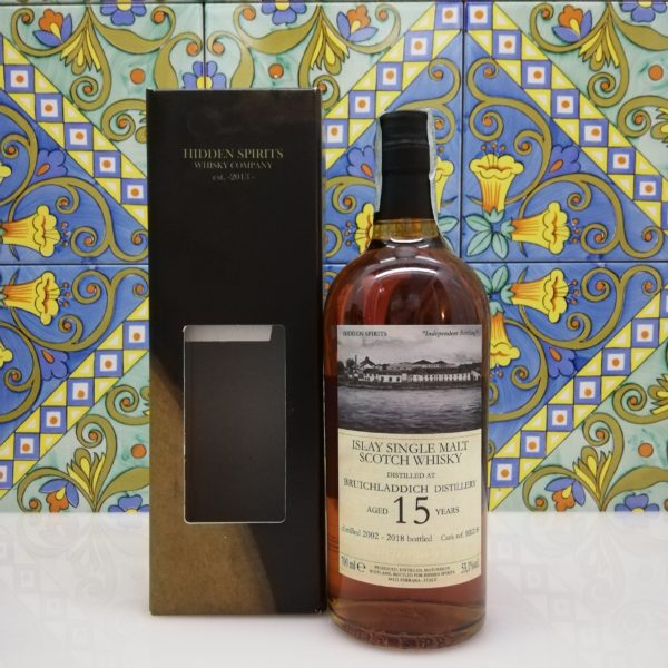 Whsky Bruichladdich 15 y.o. 2002-2018 Hidden Spirits vol 53.1% cl 70