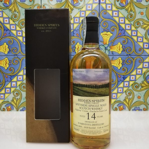 Whisky Tamintoul 14 y.o. 2005-2020 Hidden Spirits vol 52,6% vol 70