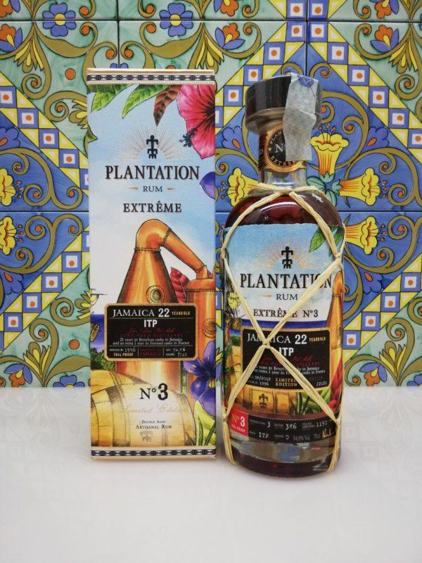 Rum Plantation Jamaica 22 y.o.  ITP distilled 1996 Full Proof vol 54,86% cl 70