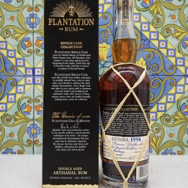 Rum Plantation Guyana 1998 Ocho Tequila Single Cask vol 44,8% cl 70