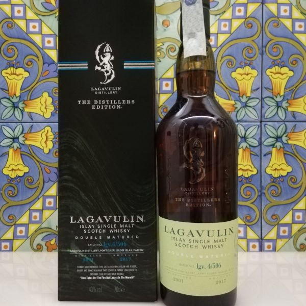 Whisky Lagavulin Distillers Edition 2001  vol 43% cl 70