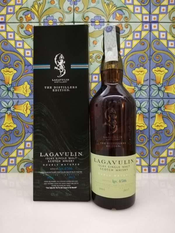 Whisky Lagavulin Distillers Edition 2001  vol 43% cl 70