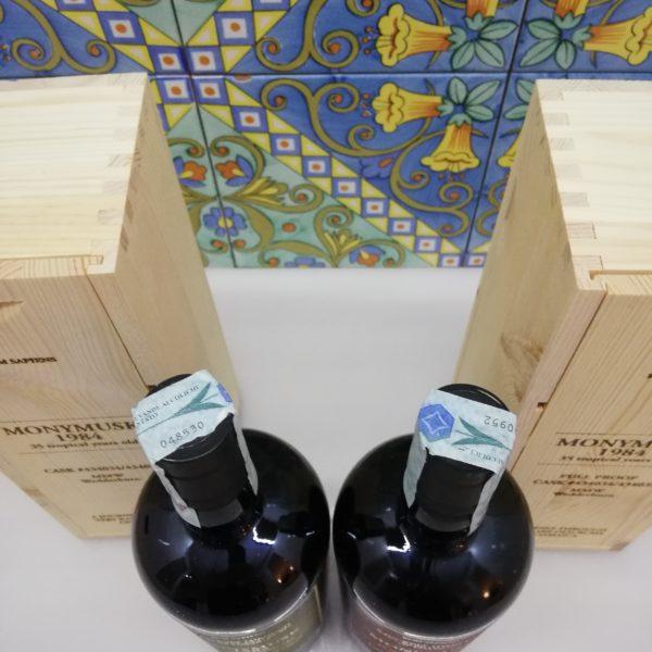 "Rum Monymusk 1984 35 tropical years old release ""Rum Sapiens""  Velier"