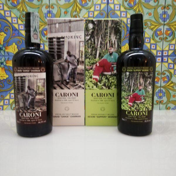 "Rum Caroni Employees 2nd release – David ""Sarge"" Charran 1996 – Kevon ""Slippery"" Moreno 1998"