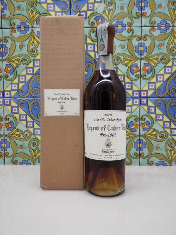 Rum Valdespino Legend of Cuban Rum pre-1962 vol 45% cl 70