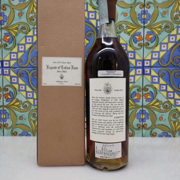 Rum Valdespino Legend of Cuban Rum pre-1962 vol 45% cl 70