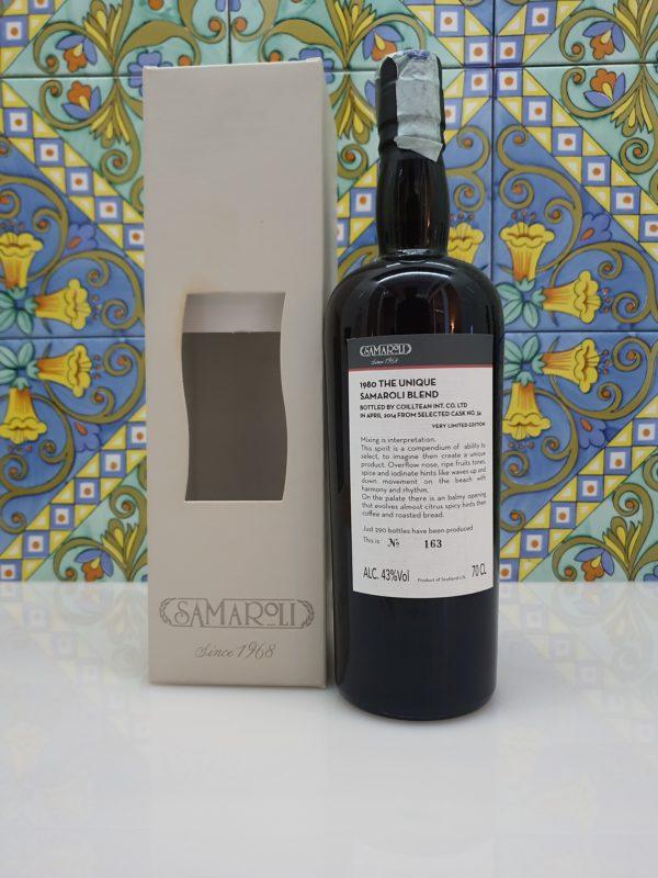 Whisky Samaroli The Unique 1980 Single Cask vol 43% cl 70