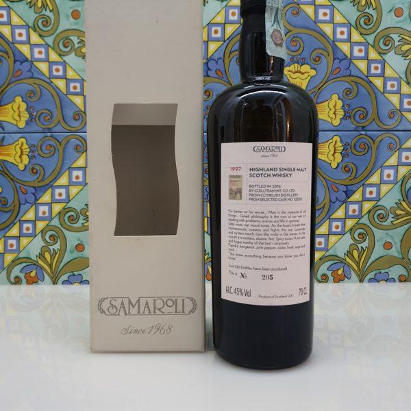 Whisky Samaroli Clynelish 1997 Single Cask vol 45% cl 70