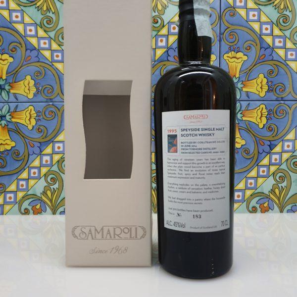Whisky Samaroli 1995 Tormore Spyside Single Malt  vol 45% cl 70