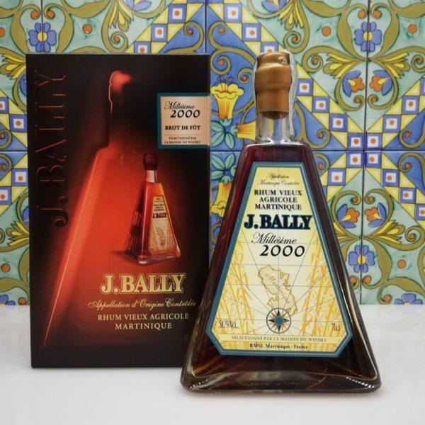 Rum Rhum J.Bally 2000  Brut de Fut Vol.58.1%  cl.70 Agricole Martinique Velier