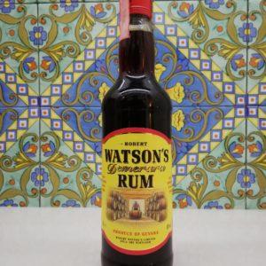 "Rum Demerara ""Robert Watson's"" vol 40% cl 70"