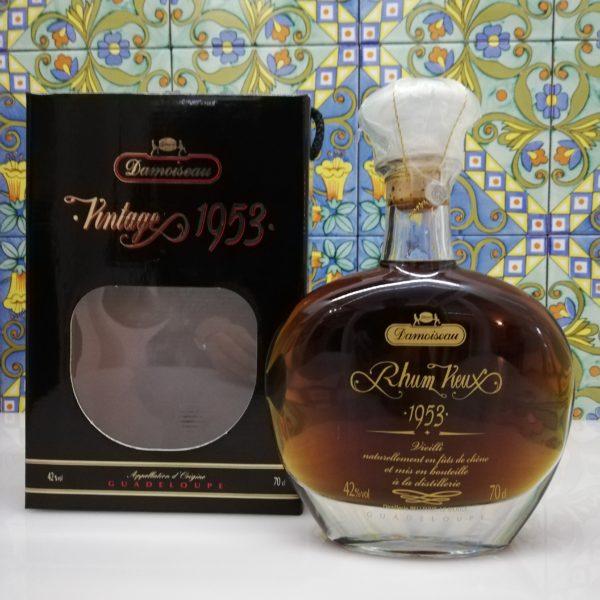Rum Rhum Vieux  Damoiseau vintage 1953 cl 70 vol 42%