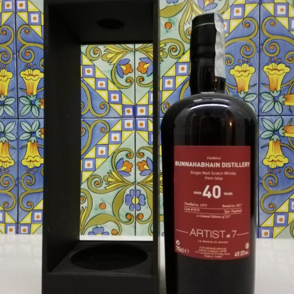 Whisky Bunnahabhain 1975 Artist#7 – 40 years old -vol 49% cl 70
