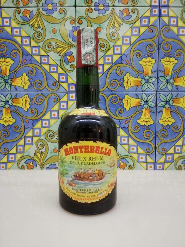Rum Rhum Montebello 1984 Vol.42% cl.70 Vieux Rhum de la Guadeloupe – Agricole