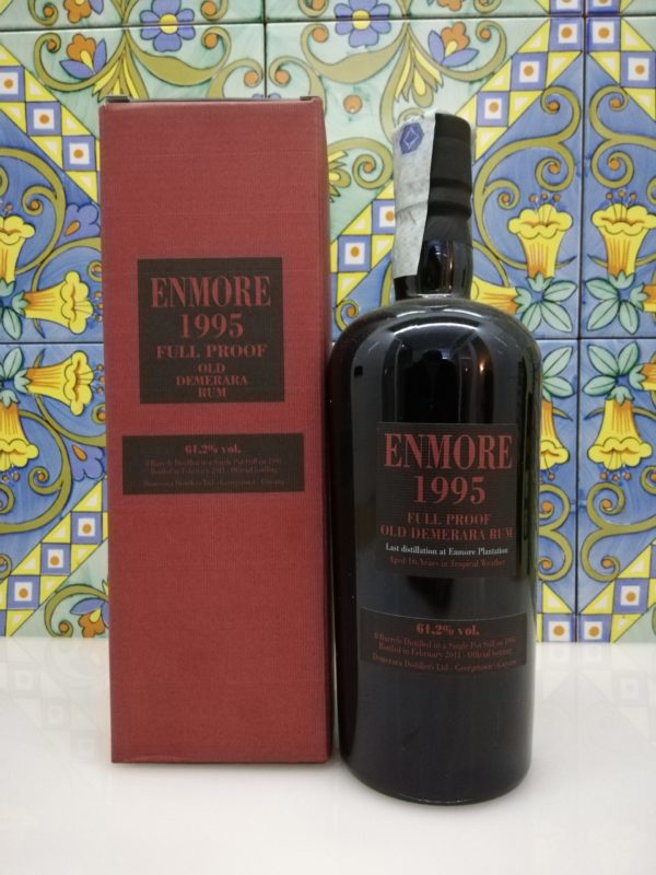 Rum Enmore 1995 Demerara Distillery, Velier Vol.61,2% cl.70