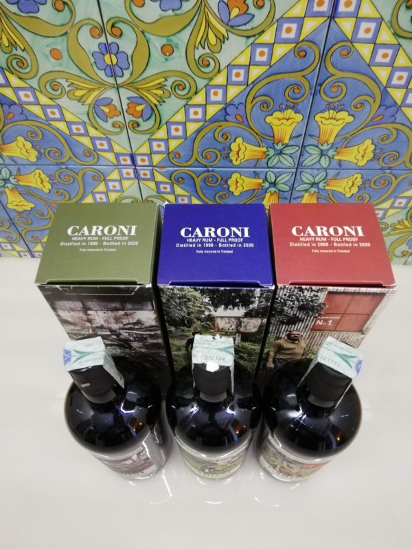 """Rum Caroni Employees 4th Release- """"Yunkoo"""" 1998- """"Brigade"""" 1998- """"Dicky"""" 2000 cl 70"""