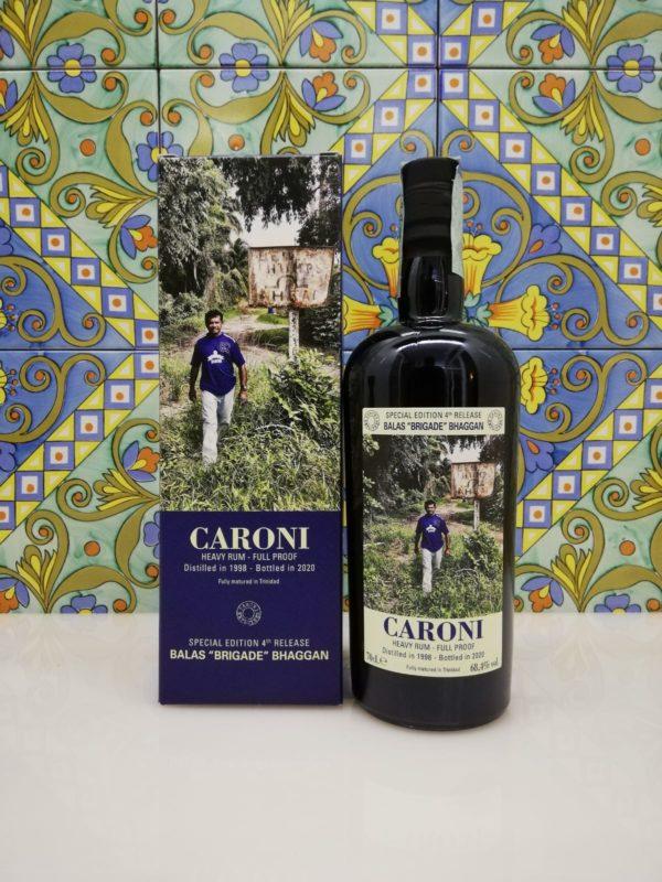 "Rum Caroni Employees 4th Release Balas ""Brigade"" Bhaggan cl 70 vol 68,4%"