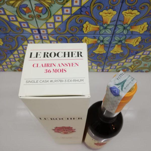 Rum Clairin Ansyen Le Rocher 36 Mois Leonardo Leuci ex-Rhum cl 70 vol 46.5%