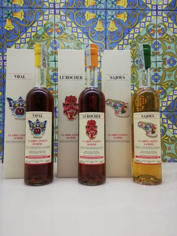 Rum Clairin Single Cask – Julian Biondi 39 Mois -Leonardo Leuci 36 Mois- Cesare Canessa 34 Mois