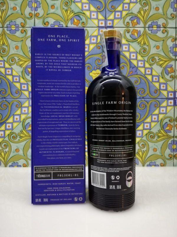 Whisky Waterford Single Farm Ballymorgan 1.1 vol 50% cl 70