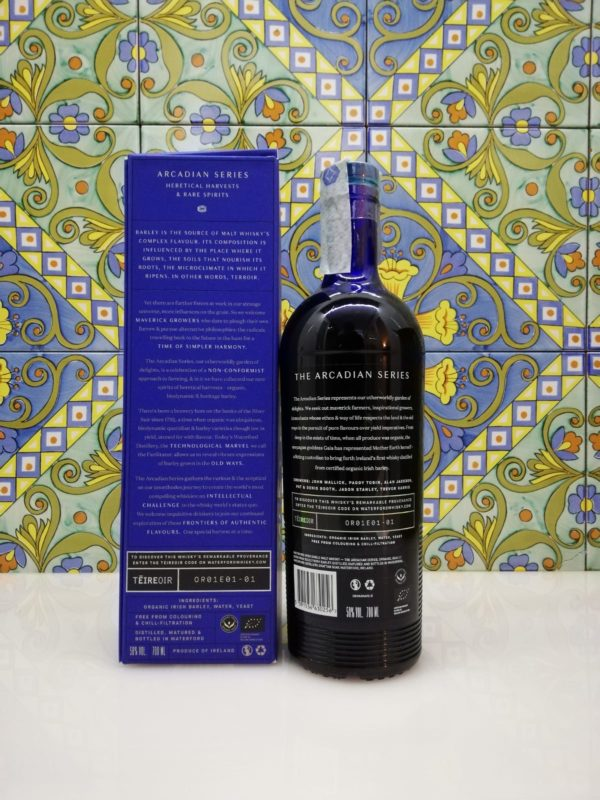 Whisky Waterford The Arcadian Organic Gaia 1.1 cl 70 vol 50%