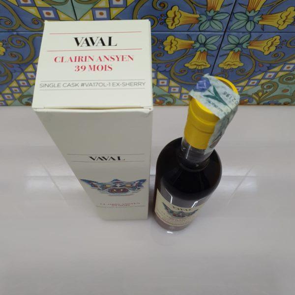 Rum Clairin Ansyen Vaval 39 Mois Julian Biondi  ex-Sherry cl 70 vol 50.3%
