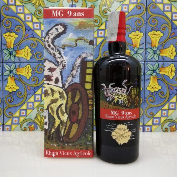 Rum MG Bielle 2003 Marie Galante 9 years old Velier cl 70 vol 49%