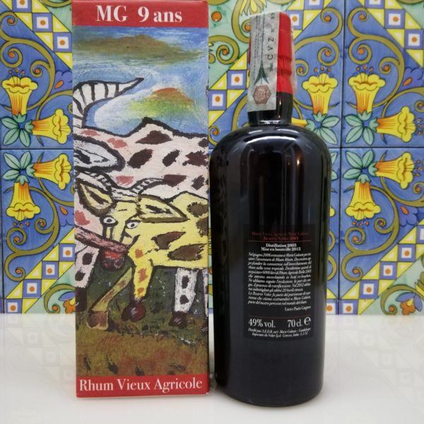 Rum MG Bielle 2003 Marie Galante 9 years old Velier cl 70 vol 49%