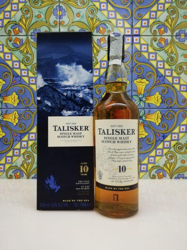 Whisky Talisker 10 Years Single Malt Scotch cl 70 vol 45.8%