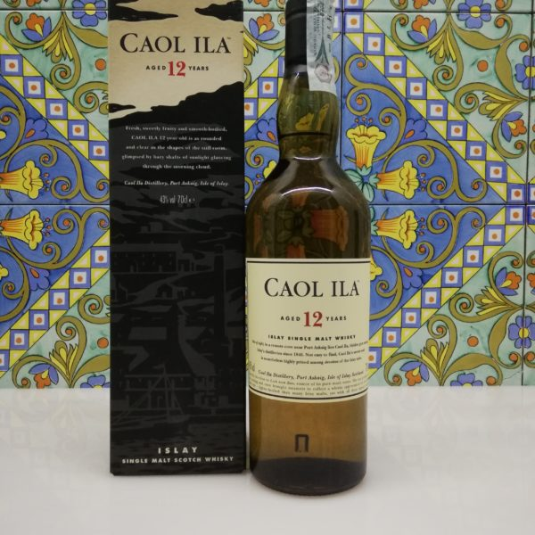 Whisky Caol Ila 12 y.o. Islay Single Malt vol 43% cl 70