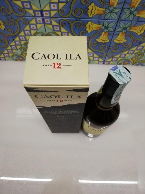 Whisky Caol Ila 12 y.o. Islay Single Malt vol 43% cl 70