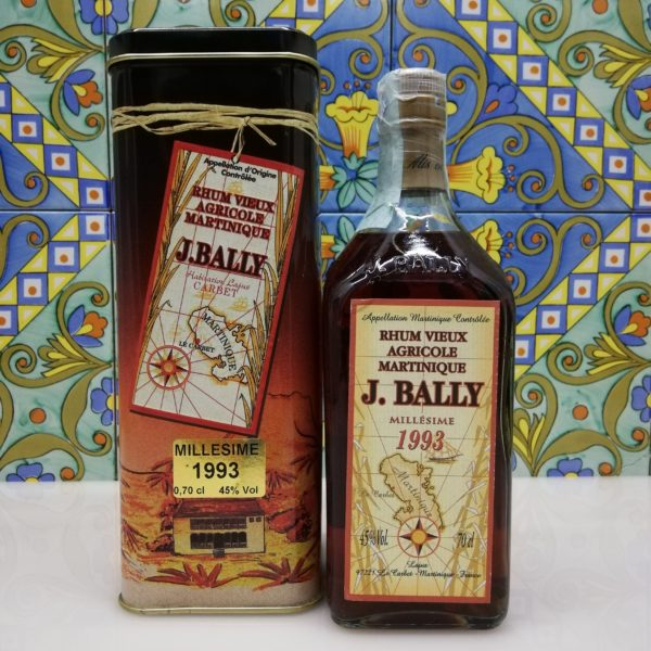 Rum Rhum J.Bally 1993  Vol.45%  cl 70 Agricole Martinique