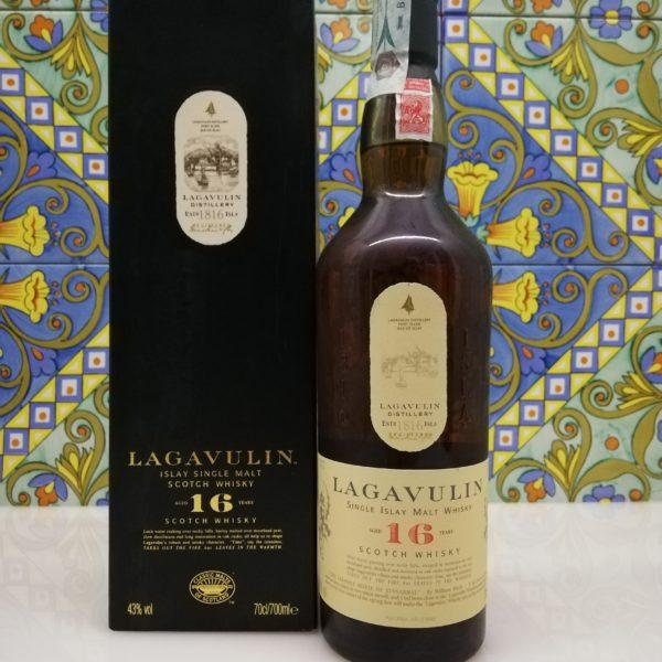 Whisky Lagavulin 16 y.o. Islay Single Malt Scotch  cl 70 vol 43%
