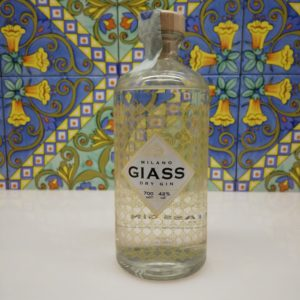 Gin Giass Milano Dry Gin vol 42% cl 70