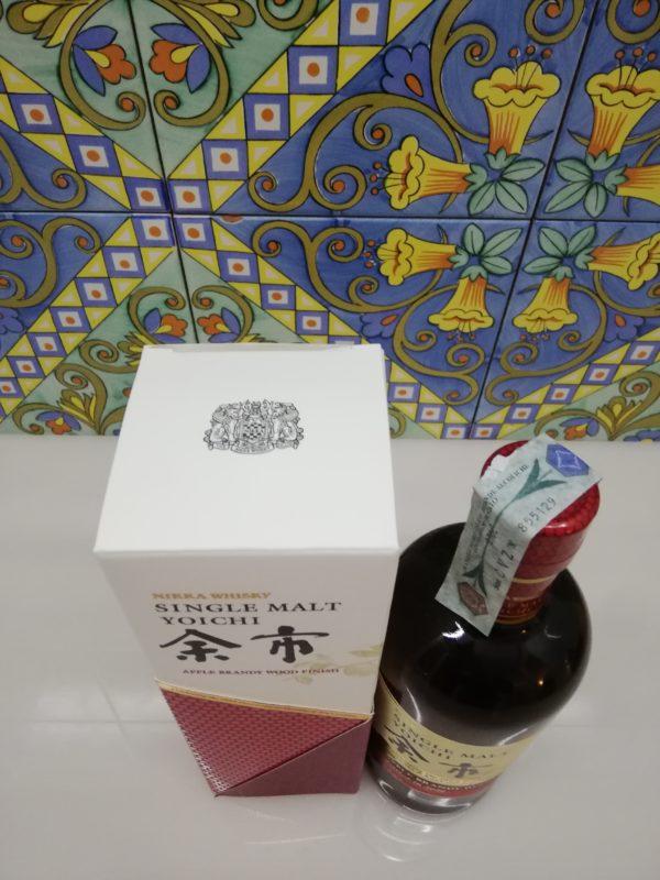 Whisky Yoichi Apple Brandy wood Finish  Nikka 2020 Vol 47% cl70