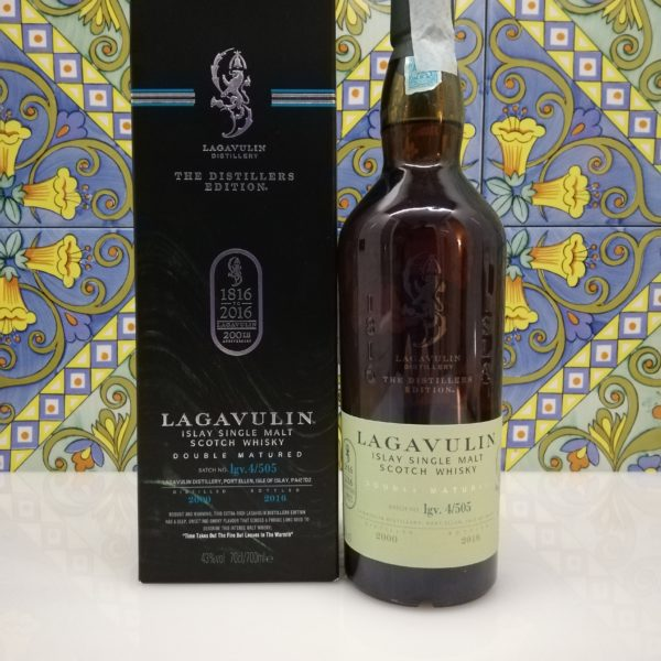 Whisky Lagavulin 200th Anniversary Distillers Edition 2000  vol 43% cl 70 – Bicentenary