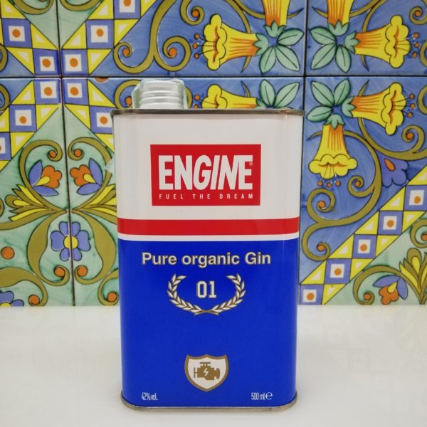 Gin Engine Pure Organic gin cl 50 vol 42%