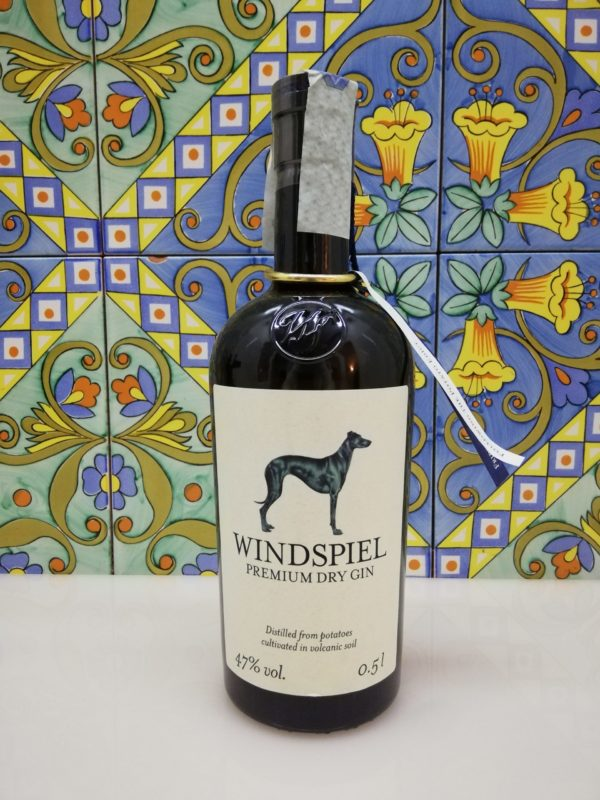 Gin Windspiel vol 47% cl 50 – Premium London Dry Gin
